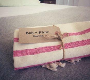 Ebb + Flow Cornwall (handmade hammam towels)
