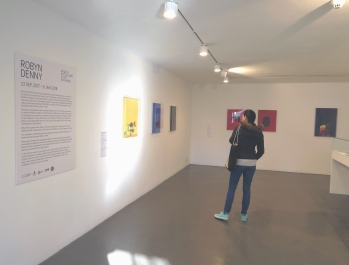 Robyn Denny Solo Exhibiton continues on the ground floor