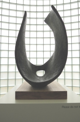 The Lobby - Dame Barbara Hepworth 'Curved Form (Trevalgan)' 1956