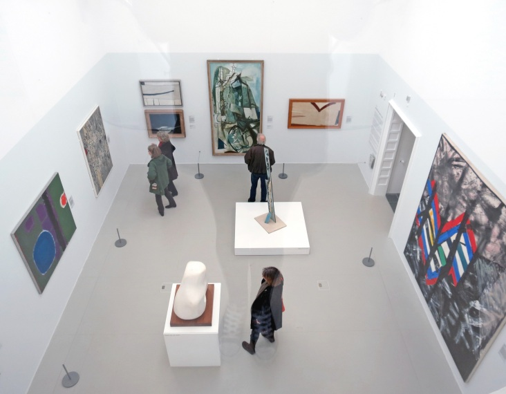 A birds eye view of Gallery One