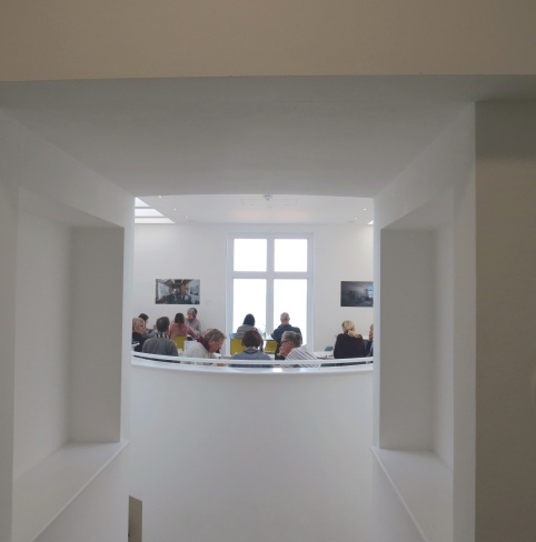 The Tate cafe with its enviable sea views