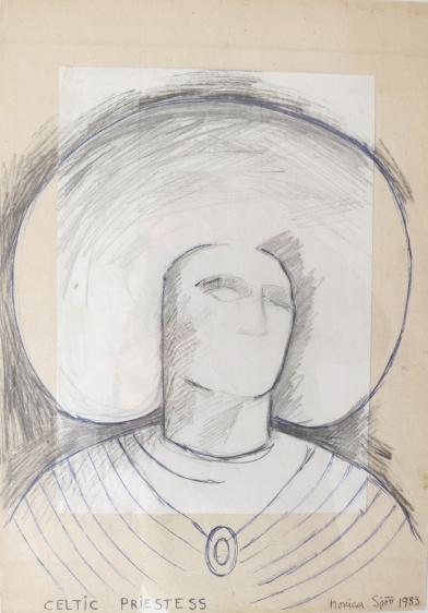 Monica Sjöö 'Celtic Priestess' (1993)
