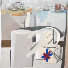 Ben Nicholson '1943 - 45 (St Ives, Cornwall)' (detail)