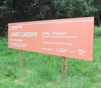 Janet Cardiff at Richmond Chapel